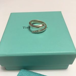 Tiffany and Co. sterling silver snake ring